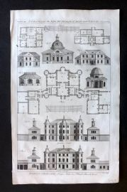 Hinton 1756 Antique Print. Architecture 13
